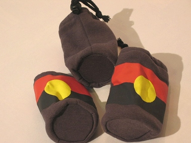 Mundstückschoner für Didgeridoo - Design aboriginal, Artikelnummer: m1