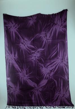 Sarong - Batik - Ton in Ton - lila - Material: Rayon - ca. 1,10m x 1,7m, Artikelnummer: 73019_5