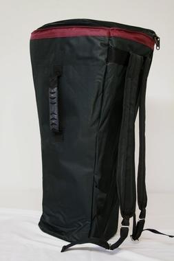 Djembetasche Nylon wasserdicht - <br> Höhe 60cm/D37cm<br>mit Bauchgurt, Artikelnummer: bag13