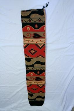 Didgeridoo-Tasche - nicht gepolstert - 1,35m/D13cm + 1,55m/D15cm- Design Sun, Artikelnummer: dt-simple4