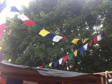 Tibetische Gebetsfahne - in 5 Grössen lieferbar, Artikelnummer: 53034