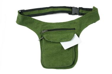Gürtel- oder Hüfttasche - Baumwolle - Farbe: armygrün, Artikelnummer: 44024__